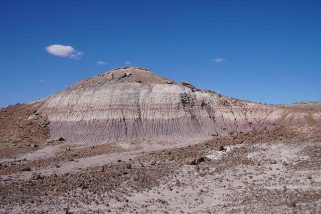 Una roca de Arizona evoca la Tierra caótica de hace 200 millones de años