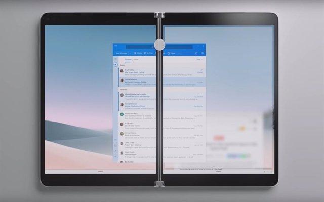 Los dispositivos con doble pantalla de Microsoft se retrasarán hasta 2022