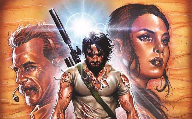 BRZRKR, el cómic de Keanu Reeves... Escrito por Keanu Reeves