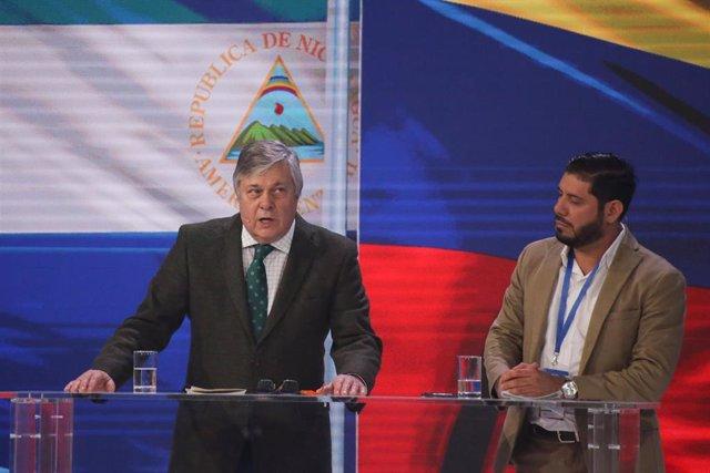Leopoldo López Gil, el padre del opositor venezolano Leopoldo López y eurodiputado del PP