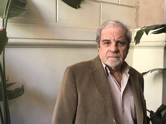 Juan Marsé, Premi Cervantes 2008, posa en una fotografia, a Espanya, a 6 d'abril de 2017 (arxiu).