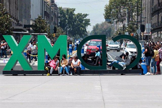 Ciudad de México durante la pandemia del coronavirus.