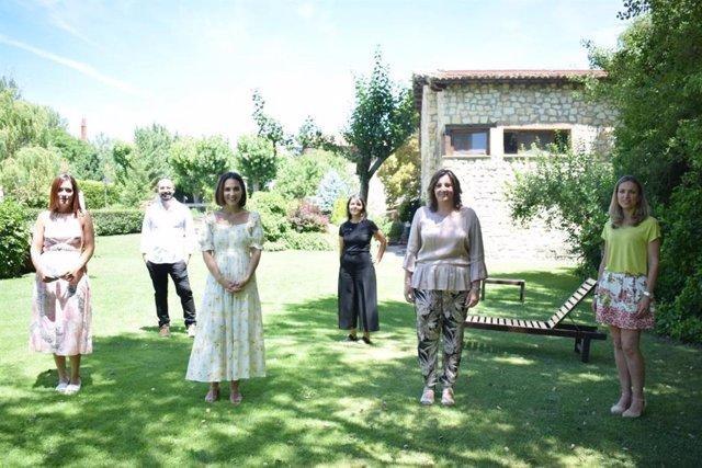 Tamara Falcó promociona la oferta turística de Castilla-La Mancha.