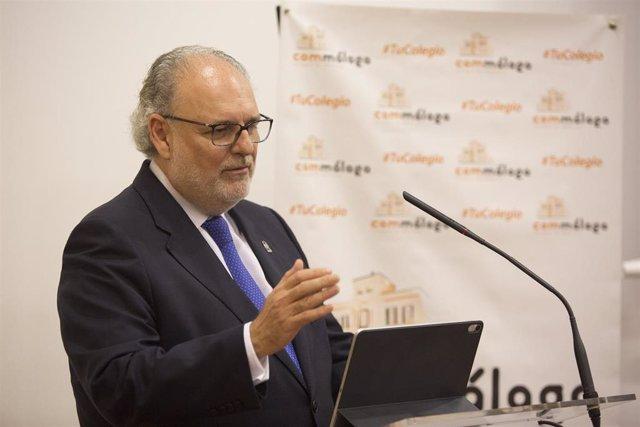 El gerente del SAS, Miguel Ángel Guzmán, en una imagen de archivo.