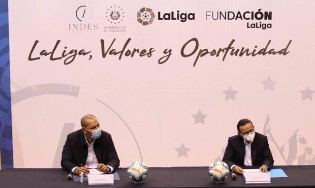 Fútbol.- El programa LaLiga, Valores y Oportunidad continúa su actividad formati