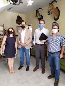 Reunión de Vox con la Federación Andaluza de Caza