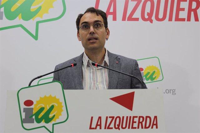 Toni Valero, coordinador general de IU Andalucía