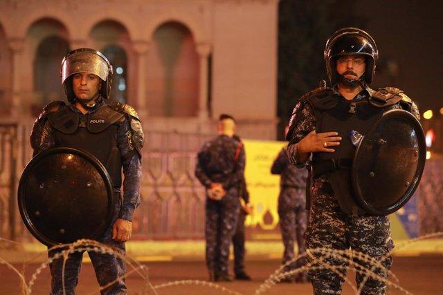 Irak.- Las fuerzas de seguridad iraquíes buscan en Bagdad a una ciudadana aleman