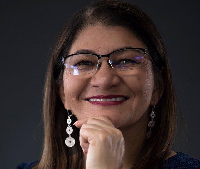 La ex guerrillera de las FARC Criselda Lobo, alias 'Sandra Ramírez'