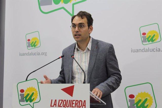 Antonio Valero, coordinador general de IU Andalucía