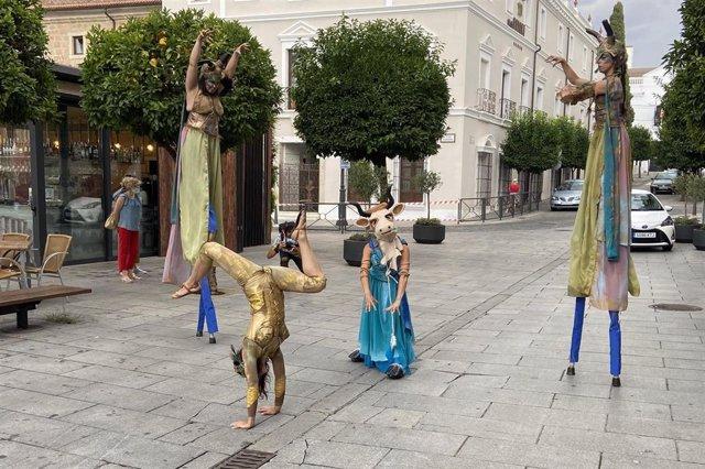 Pasacalles del Festival de Teatro Clásico de Mérida