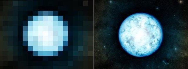 Telescopios de rayos gamma miden diámetros de estrellas distantes