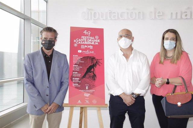 Presentación del 49ª Festival de Cante de Grande de Casabermeja (Málaga)