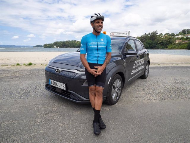 El exganador del Tour de Francia Óscar Pereiro protagoniza la campaña 'Juntos en el asfalto' de Hyundai