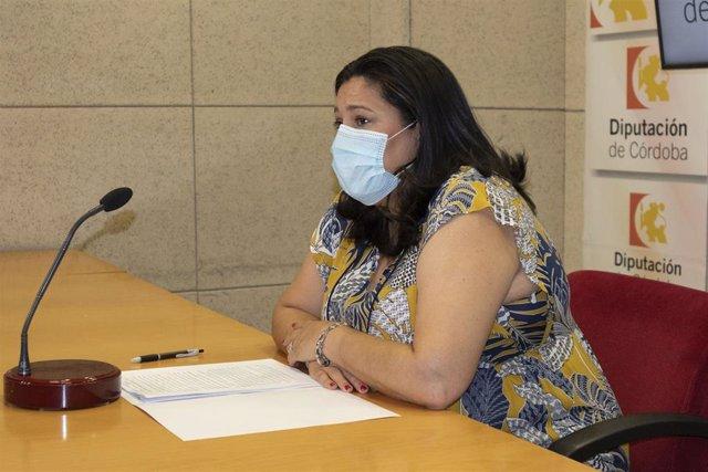 La presidenta de Iprodeco, Dolores Amo, presenta las actividades de Intercaza 2020