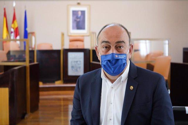 Muguel Ángel de Vicente hace balance de su primer año al frente de la Diputación de Segovia.