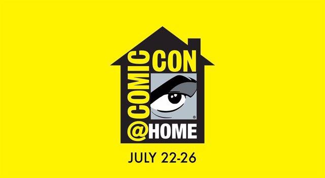 Logo de la Comic Con at Home de San Diego 2020