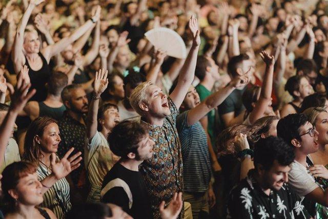 Imagen de archivo de un concierto en Viveros (València)