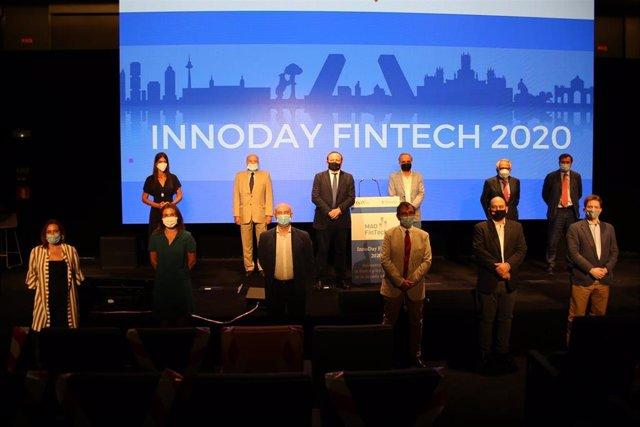 Imagen de 'Innoday Mad Fintech', jornada en la que ha participado el delegado de Economía, Innovación y Empleo, Miguel Ángel Redondo.