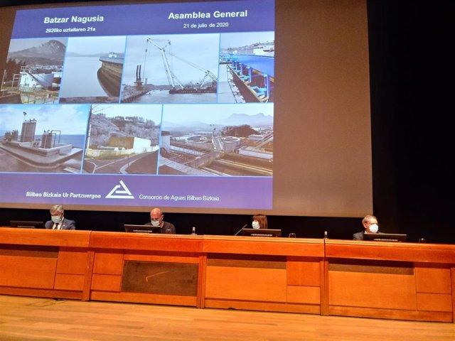 Asamblea General del Consorcio de Aguas Bilbao BizkaiaP