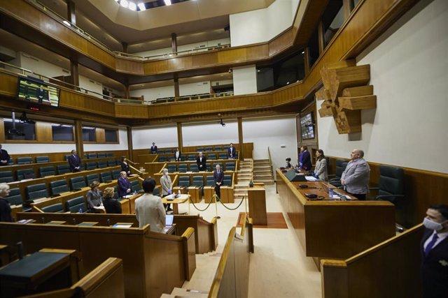Reunión de la diputación permanente del parlamento vasco