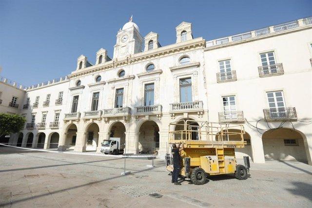 Fachada del Ayuntamiento de Almería