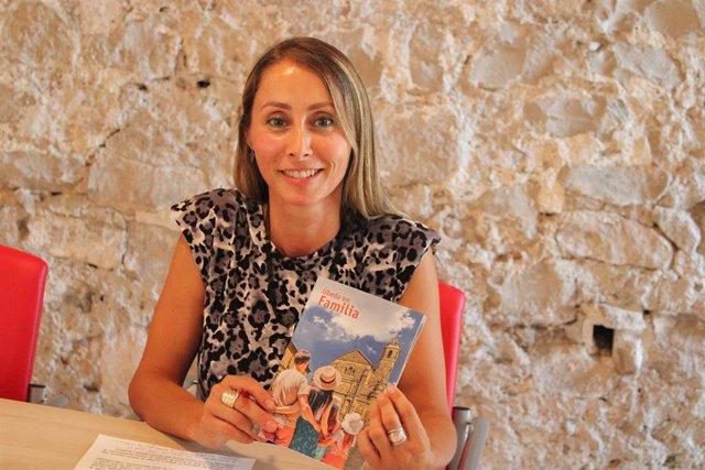 La concejala de Turismo de Úbeda, Elena Rodríguez