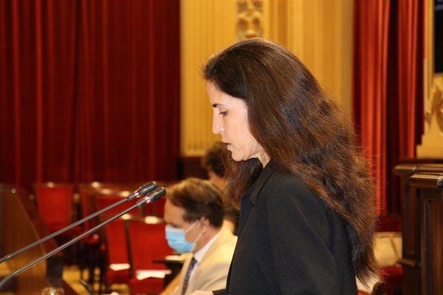 La diputada de Podemos en el Parlament, Antonia Martín