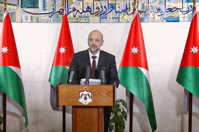 El primer ministro de Jordania, Omar Razaz