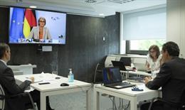 Pedro Duque garantiza el apoyo a la iniciativa europea sobre hidrógeno verde