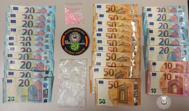Sucesos.- Detenido un pasajero de VTC que se enfrentó a los agentes cuando le pillaron con dinero y cocaína