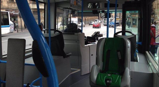 Un autobús urbano.