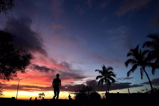 Imagen de un participante en el Mundial de Ironman