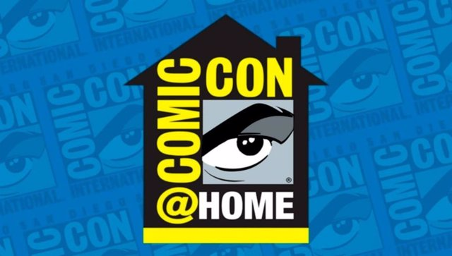 Logo de la Comic-Con at Home 2020 de San Diego