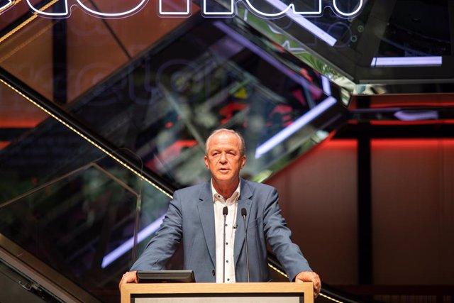 El president en funcions de SEAT, Carsten Isensee, en la inauguració institucional de Casa Seat. Barcelona, Catalunya (España), 16 de juny del 2020.