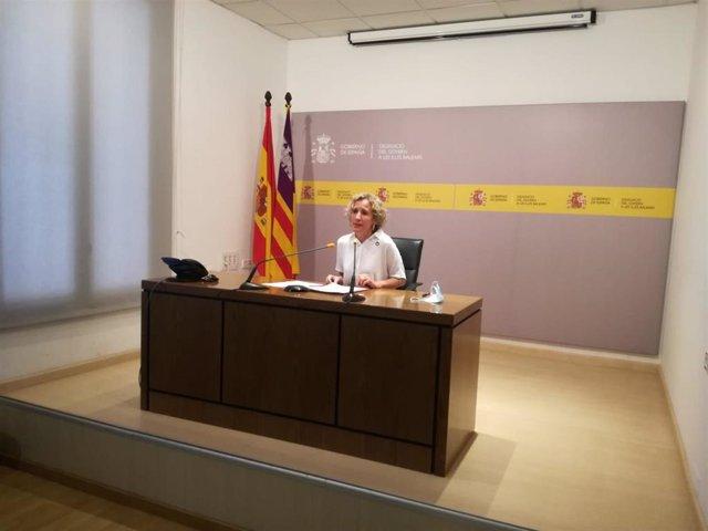 La delegada del Gobierno en Baleares, Aina Calvo