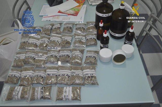 La Policía Nacional y la Guardia Civil desmantelan un grupo dedicado a la gestión integral de macro-plantaciones de marihuana