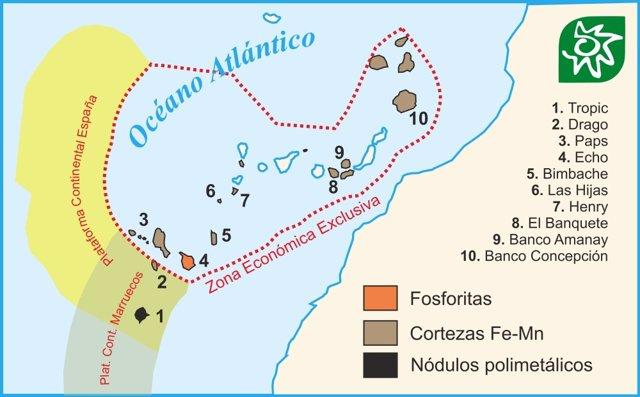 Localización de las Abuelas de Canarias