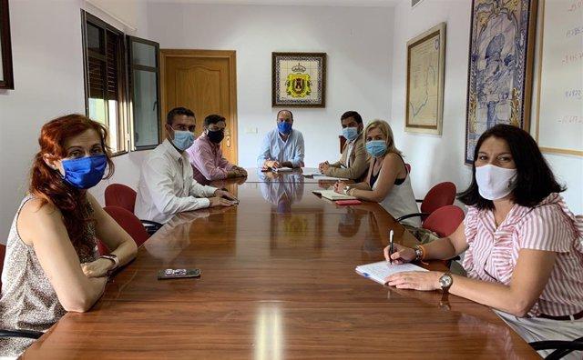 Reunión entre la Junta y Ayuntamiento de Los Barrios