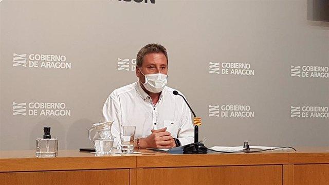 El consejero de Vertebración del Territorio, Movilidad y Vivienda del Gobierno de Aragón, José Luis Soro.