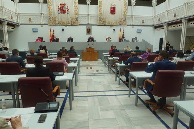 El pleno de la Asamblea aprueba el dictamen del proyecto de ley de Mitigación del Impacto Socioeconómico de la Covid-19 en las áreas de vivienda e infraestructuras