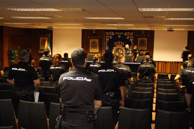 Acto de incorporación de 55 nuevos policías nacionales