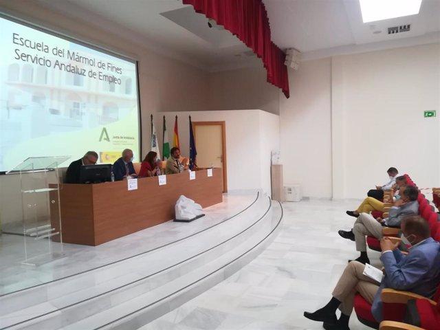 Reunión de la Escuela del Mármol de Fines (Almería)