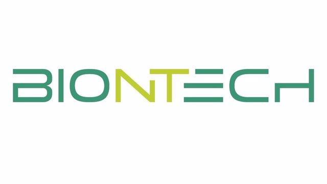 Logo de BioNTech.