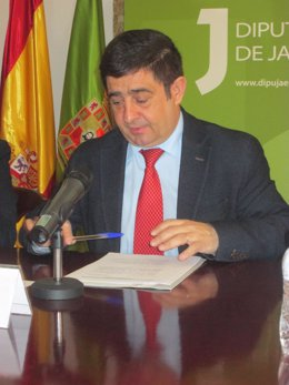 El presidente de la Diputación de Jaén, Francisco Reyes