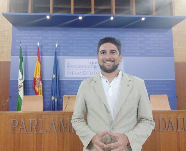 El parlamentario de Adelante Andalucía por Sevilla, Ismael Sánchez