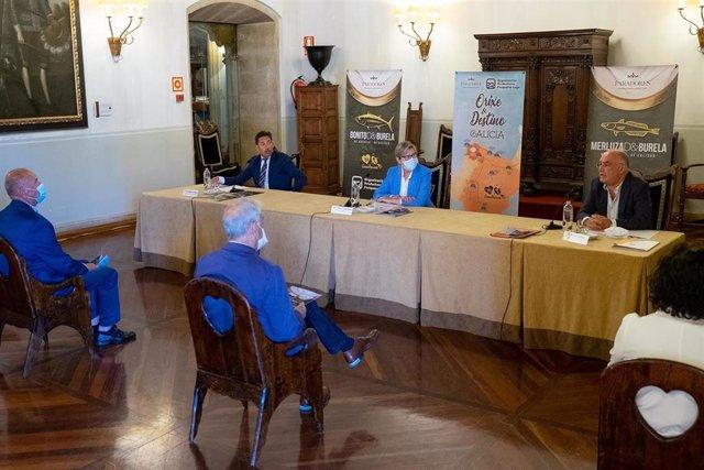 Rosa Quintana en la presentación de 'Orixe & Destino Galicia'