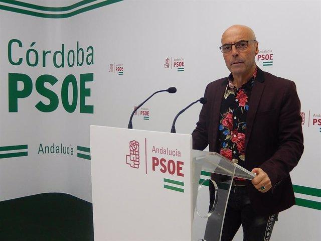 El diputado nacional del PSOE por Córdoba, Antonio Hurtado, en una imagen de archivo.