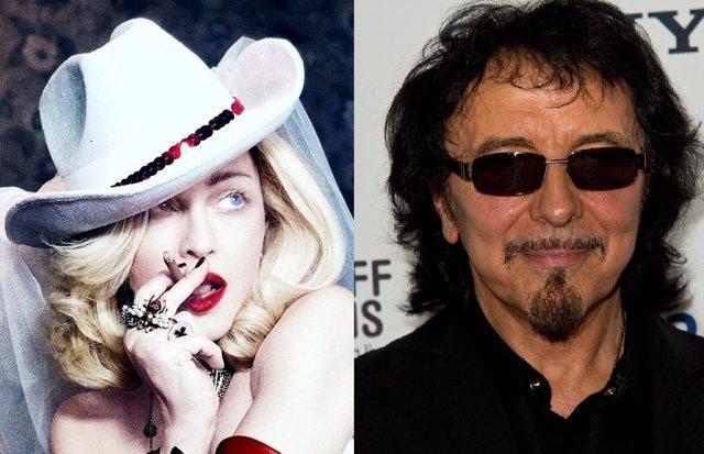 Tommy Iommi de Black Sabbath echó a Madonna de su sala de ensayo