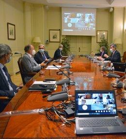 Reunión de presidentes del CGPJ y Tribunales Superiores de Justicia